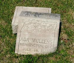 Ada <i>Mullins</i> Hennington
