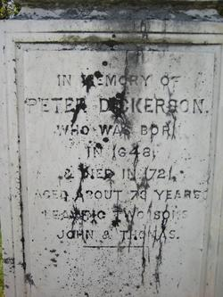 Peter Dickerson