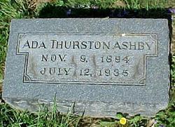 Ada <i>Thurston</i> Ashby