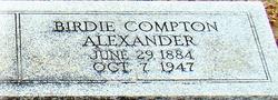 Birdie <i>Compton</i> Alexander