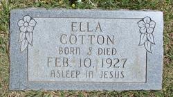 Ella Cotton