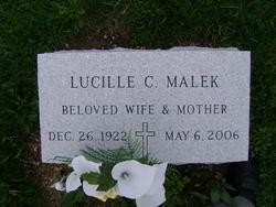 Lucille C. <i>Snyder</i> Malek