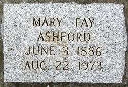 Mary Faye <i>Caldwell</i> Ashford