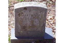 Martha M. <i>Sharp</i> Alderman