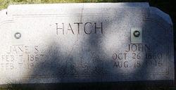 John Hatch