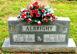 Hazel E. <i>Clough</i> Albright