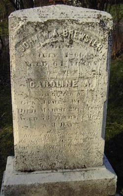Caroline Augusta <i>Wilkin</i> Brewster