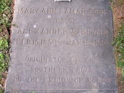 Mary A. <i>Lamar</i> Cobb