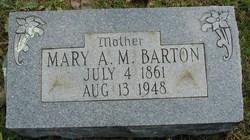 Mary A. M. Barton