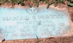 Harold E. Prinkey