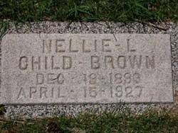 Nellie Louisa <i>Child</i> Brown