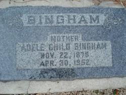 Adele <i>Child</i> Bingham