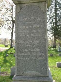Mary B <i>Woodruff</i> Killum