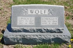 Phila Jane <i>Randall</i> Wolf