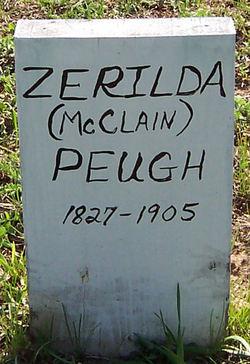 Zerilda <i>McClain</i> Peugh