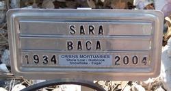 Sara Baca