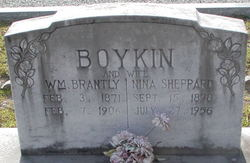 Nina Letitia Neshie <i>Sheppard</i> Boykin