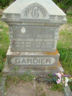 Marie Dorothea <i>Scherf</i> Gardier