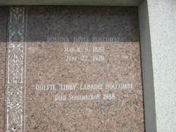 Odette Libby <i>LaBadie</i> Holcombe