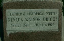 Alice Nevada <i>Watson</i> Driggs