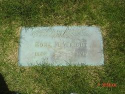 Edna M. <i>Newman</i> Wright