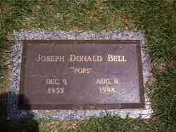 Joseph Pops Donald Bell