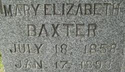 Mary Elizabeth Baxter