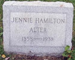 Jennie <i>Hamilton</i> Alter