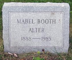 Mabel <i>Booth</i> Alter