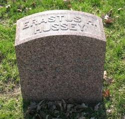 Erastus H Hussey