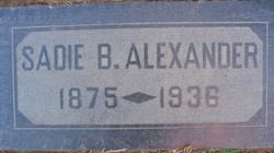 Sarah Belle Sadie <i>Conrad</i> Alexander