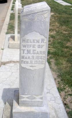 Helen R <i>Mc Closkey</i> Carr