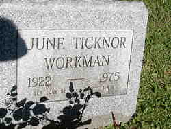 June Leone <i>Ticknor</i> Workman