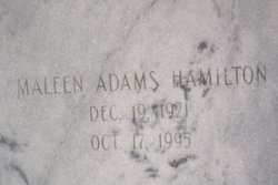 Maleen <i>Adams</i> Hamilton