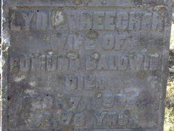 Lydia <i>Beecher</i> Baldwin