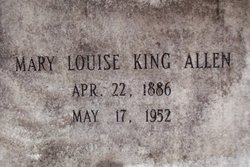 Mary Louise <i>King</i> Allen