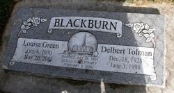 Louisa <i>Green</i> Blackburn