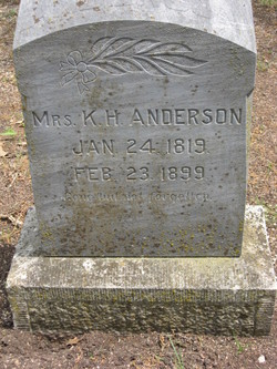Mrs K. H. Anderson