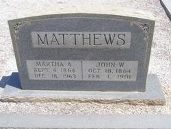 Martha Ann <i>Nash</i> Matthews