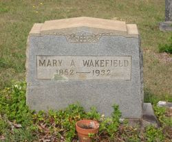 Mary A Wakefield