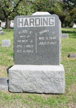 Alice Evelina <i>Twichell</i> Harding