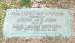 Maria Hester <i>Monroe</i> Gouverneur
