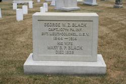 LTC George Washington Ziegler Black