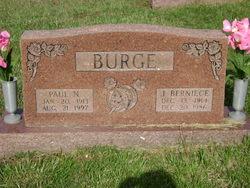 Juanita Berniece <i>Cookson</i> Burge