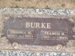 Virginia M Burke