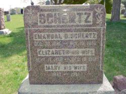 Elizabeth <i>Nofzinger</i> Schertz