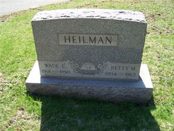 Betty M. <i>Massingham</i> Heilman