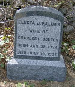Electa J. <i>Palmer</i> Bouton