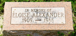 Eloise D. Alexander