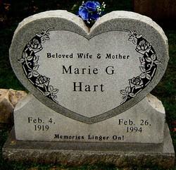 Marie Gertrude <i>Heidenfelder</i> Hart